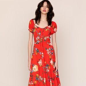 Yumi Kim Mercer Street Dress midi - Floral Print S
